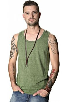 Herenshirts - Solid Tanktop
