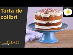 Tarta de colibrí (Lleva coco rallado, plátanos y piña en almíbar)   Dulces con Alma - YouTube