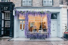 Blogger review of Saint Aymes in Connaught Village, London's most beautiful cafe by luxury travel and food blogger Angie Silver