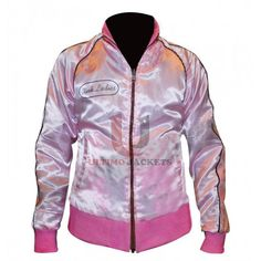 Michelle Pfeiffer Reversible Satin Grease 2 Pink Ladies Jacket    Trying to add some flare of love in her life, Stephanie Zinone breaks up with Johnny Nogerelliand gets attracted towards the new student in school. In this love and romance conundrum, shesurely impresses everyone