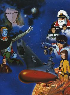 Space Battleship Yamato/Star Blazers.  My favorite anime when I was ten.  I skipped school one day to catch what I thought would be the final episode, but it turned out to be the penultimate episode.  Just my luck.