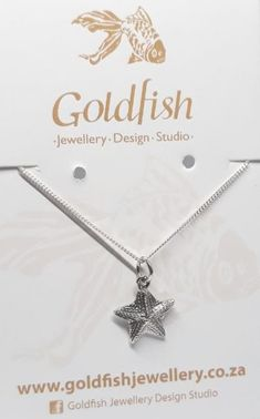 925 Sterling Silver FISH PENDANT 26mm Drop Large tail Goldfish