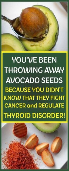 -You've been throwing away avocado seeds because you didn't know that they regulate thyroid disorder! -Avocados are the favorite fruits of numerous people, but many fail to use all their benefits,… Natural Remedies For Allergies, Natural Headache Remedies, Natural Remedies For Anxiety, Natural Cures, Natural Life, Natural Health, Nutrition Tips, Health And Nutrition, Health And Wellness