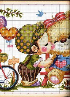 Gallery.ru / Фото #3 - SODA - tca-irina Small Cross Stitch, Cross Stitch For Kids, Cross Stitch Needles, Cute Cross Stitch, Beaded Cross Stitch, Cross Stitch Flowers, Cross Stitch Charts, Cross Stitch Embroidery, Cross Stitch Patterns