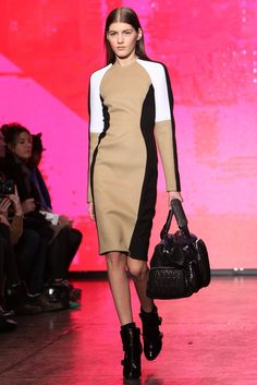 You know I'm a sucker for color blocking. DKNY RTW Fall 2013