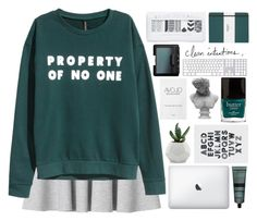 """""""home at last"""" by beauty-from-ashes ❤ liked on Polyvore featuring Monki, H&M, Visionnaire, Aesop, Butter London, NARS Cosmetics and Shinola"""