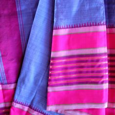 Thai silk fabric - beautiful colors.