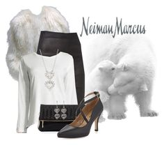 """""""Neiman Marcus Full Midi Skirts"""" by teez-biz-nez ❤ liked on Polyvore featuring Vince and Neiman Marcus"""