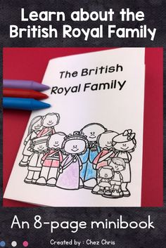 Are your students eager to learn about the British Royal Family? It will be so easy with this minibook. They will learn key information about Queen Elizabeth II and her husband, about Prince Charles, Camilla, Diana and his sons, Prince Harry and Prince William. A last page will concentrate on George and Charlotte. It can also be given as a research paper as a fill in the gap activity is included.