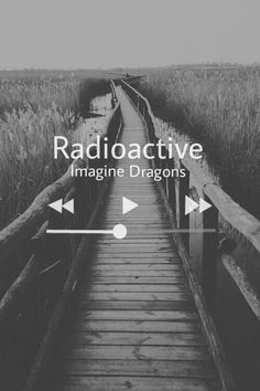 music, imagine dragons, and radioactive εικόνα