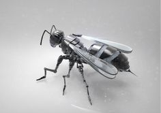ArtStation - Mech wasp, Dzmitry Doryn
