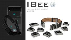 IBee Connected Bracelet with Smart Modules