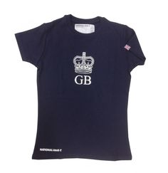 Our new Great Britain shirt, with Union Jack flag on sleeve.