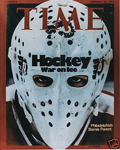 BERNIE PARENT VINTAGE GOALIE MASK HOCKEY FLYERS 8X10 PHOTO PHILADELPHIA