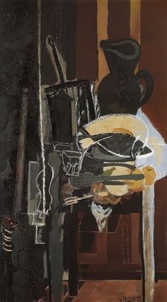 Kitchen Table with Grill, 1943-4- Georges Braque