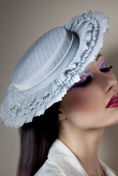 e47aadb02ac Collections - The Secret Lives of Dolls - Anya Caliendo - Couture Millinery  Atelier Races Outfit · Races OutfitBoater HatBridal ...