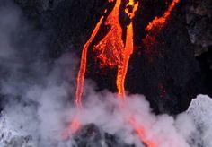 Kilauea Volcano, Big Island Hawaii Nov 2016 Hawaii Volcanoes National Park, Volcano National Park, National Parks, Lava, Big Island Hawaii, Backdrops, Nov 2016, World, Islands
