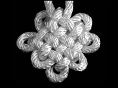 Pan Chang Knot from www.fustionknits.com  This would be great in knitted i cord