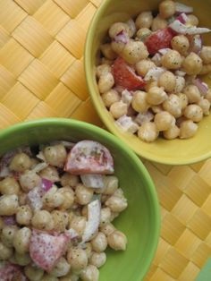Chickpea and Tahini Salad