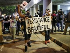 Peaceful protest in Charlotte as police chose not to enforce curfew
