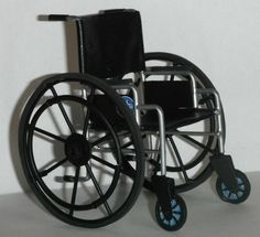 Dollhouse miniature handcrafted 1/12th scale Medical Wheelchair $75.00 I really want this to give Jane Bretzfield for Christmas!