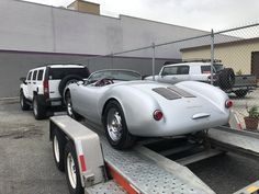 Paint is finished. Now heading to its new home in Las Vegas. Porsche 550, Coming Home, Las Vegas, Restoration, New Homes, Paint, Car, Automobile, Paintings
