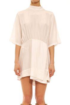 Zephra dress white (pre-order) – Shakuhachi