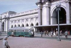 DC Transit PCC at Union Sation (1950s).