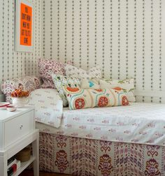 Mally Skok showhouse - fabrics galore!