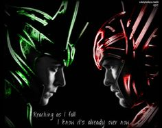 """Loki / Thor: Inspired by Red """"Already Over"""" and Tron...I guess. -RDP"""