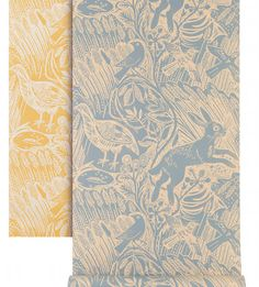 Animal print wallpaper for kids room or nursery Harvest Hare wallpaper by Mark Hearld Kids Room Wallpaper, Love Wallpaper, Designer Wallpaper, Wallpaper Designs, Wallpaper Ideas, Beautiful Wallpaper, Wallpaper Desktop, Textiles, Textile Patterns