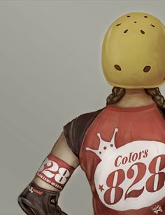Roller Derby by Diana Colorado, via Behance