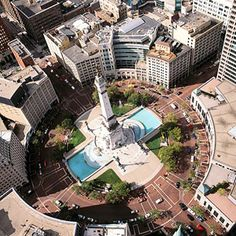 Monument Circle  Indianapolis, IN