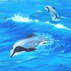 Dolphins - 'Joyous Energy' #Artmosfair