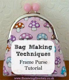 Framed purse tutorial