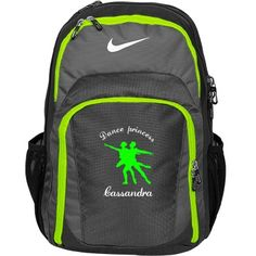 Cassandra. Dance princess | An awesome dance bag. Great quality and many colours to choose from. Customize this bag by changing name, font, colour and pic.