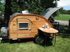 www.bigwoodycampers.com Teardrop Campers, Teardrop Trailer, Trailer Plans, Outdoor Camping, How To Plan, Woody, Outdoors, Big, Projects
