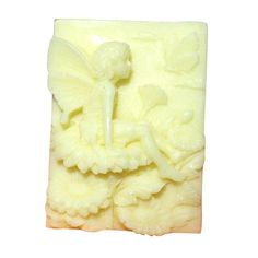 R0567 Fairy and Peony Silicone Soap Forms Silicone by hanwang, $6.80
