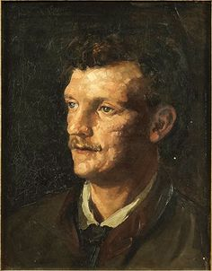 Wilhelm Leibl, Head of a Man