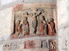 Iglesia de San Gil, Burgos, Spain-antique art