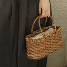 [Envelope Online Shop] akebia basket bag with arch handles KOHORO