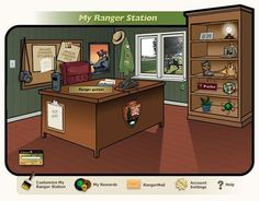 National Park Service webrangers for kids - explore the national parks from your home