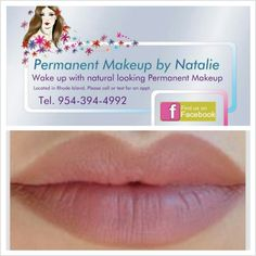 Permanent makeup by Natalie