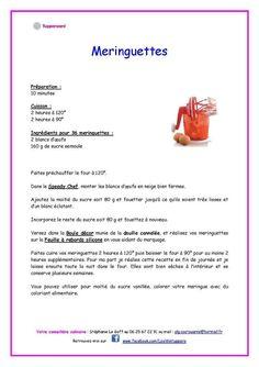 Meringuettes Tupperware