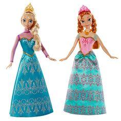 """Disney Frozen Royal Sisters Anna & Elsa Dolls -  Mattel - Toys""""R""""Us"""