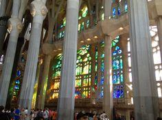 Inside Sagrada Familia @TasteLiveGo