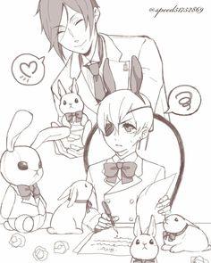 Black butler, Kuroshitsuji, Ciel Phantomhive, Sebastian Michaelis