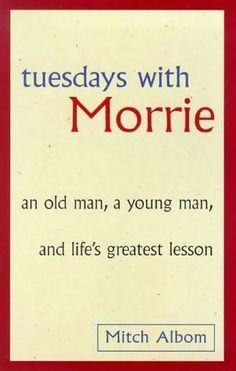We were so touched by Morrie's life lessons, that we honoured his memory by naming our tearoom after him.   It's been ten years since Mitch Albom first shared the wisdom of Morrie Schwartz with the world. Now–twelve million copies later–in a new afterword, Mitch Albom reflects again on the meaning of Morrie's life lessons and the gentle, irrevocable impact of their Tuesday sessions all those years ago. . .