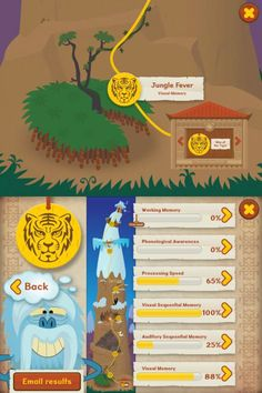 The games in Dyslexia Quest help test and build memory, as well as learning skills. The app, which was developed and tested at the Bristol Dyslexia Center in the UK, specifically assesses working memory, phonological awareness, processing speed, visual memory, auditory memory and sequencing skills.   There are three age ranges: 7-10 years, 11-16 years, and 17 and older.  Price: $2.59