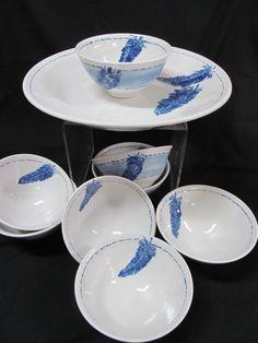 Porcelain and cobalt!